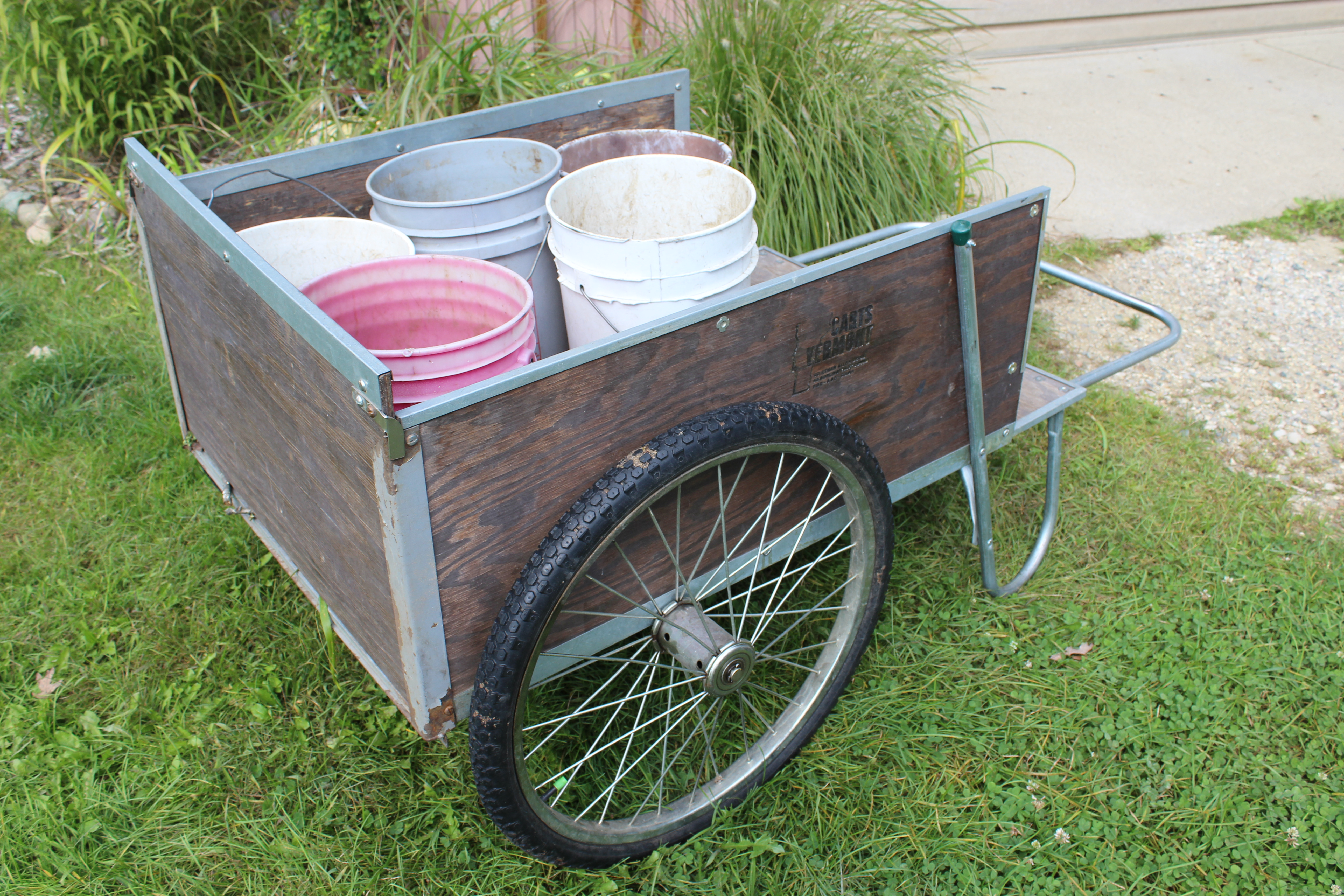 Garden Cart Replacement Parts : This gem of a garden cart is essential for us on the