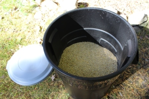 Feed in new bin  USE