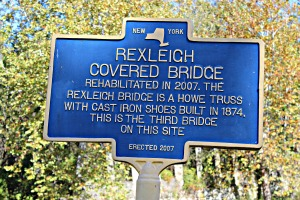 Rexeich Bridge sign close jpeg