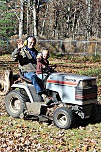 VERT Brenna on tractorwaving jpeg