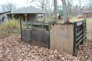 Back of compost close USE