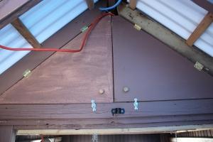 Coop raftrs-winter-doors closed