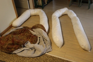 Dog bed parts
