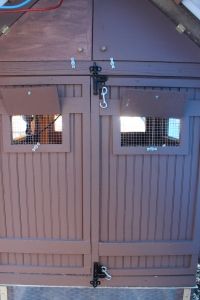 Double front doors use