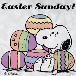 Easter Snoopie