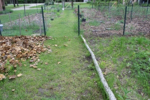 Fencing straight on