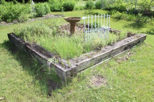 Herb bed 6-2015
