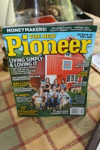 New Pioneer Cover Summer 2015