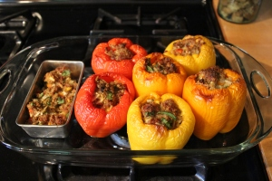 Stuffed peppers USE
