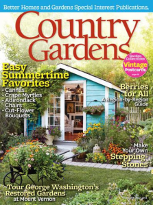 Country Garden magazine front