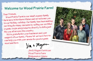 Wood prairie Family photo