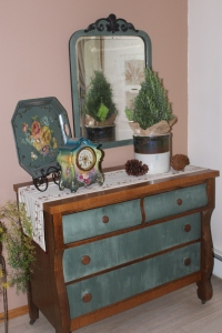 Rosemary tree and dresser