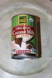 Coconut milk on try use