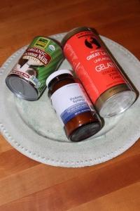 Three ingredients laying down